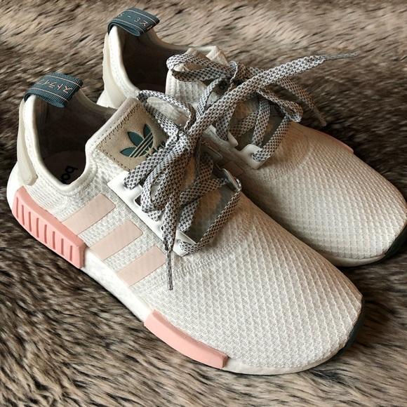 c9ba7767365e6 Adidas NMD R1 Women's Shoes White/Pink NWT